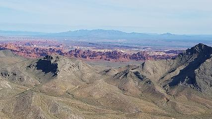Mormon beyond valley of Fire