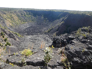 Kilauea Iki seen from Pu'upua'i