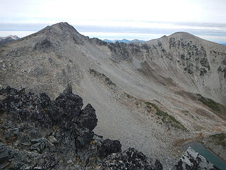 Fremont and north peak
