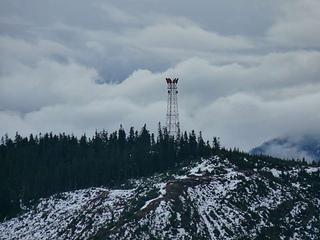 Microwave tower on Keechelus Ridge