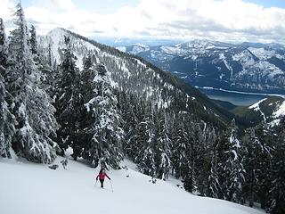 5 Top of West Couloir