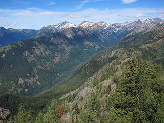 View up Phelps Creek