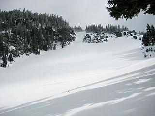 2 Looking Up West Couloir