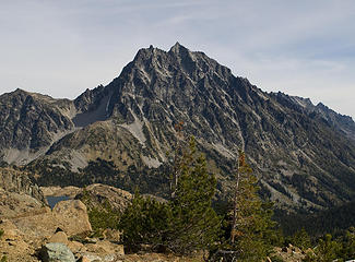 Mount Stuart and Ingalls Lake from Fortune