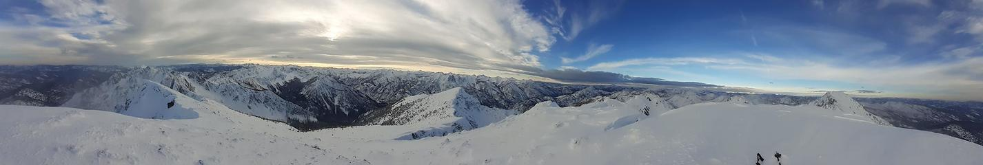 Panorama from West Craggy