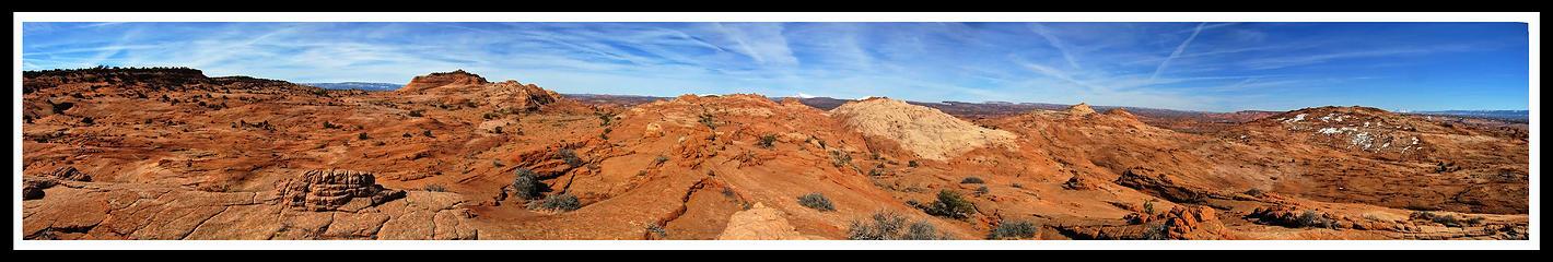 Red Breaks Panorama