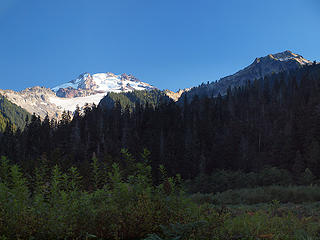 Glacier Peak from Roman Soldier Helmet Trail