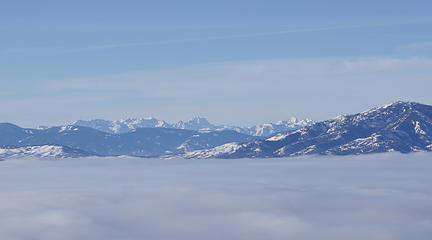 Peaks Above the Inversion