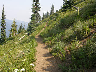 Crystal Peak trail.