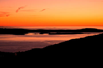 Sunrise From Cadillac Mountain, Maine