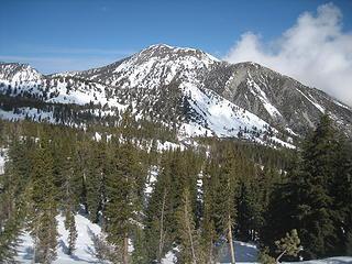 Mt Rose 10776'  5' shorter than Mt Baker