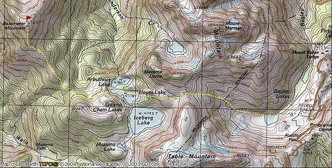 Barometer Trip Map
