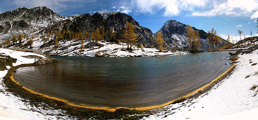 Golden Shoreline panorama
