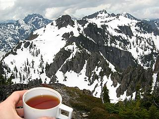 Final summit tea of the spring?