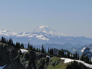Mt. Adams from Crystal Peak summit.
