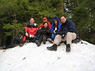 Tarzan Butte Summit Group