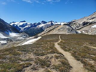 High Pass singletrack